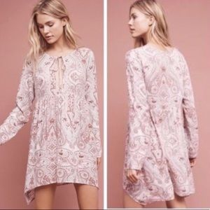 Anthropologie Lilka Tunic Dress